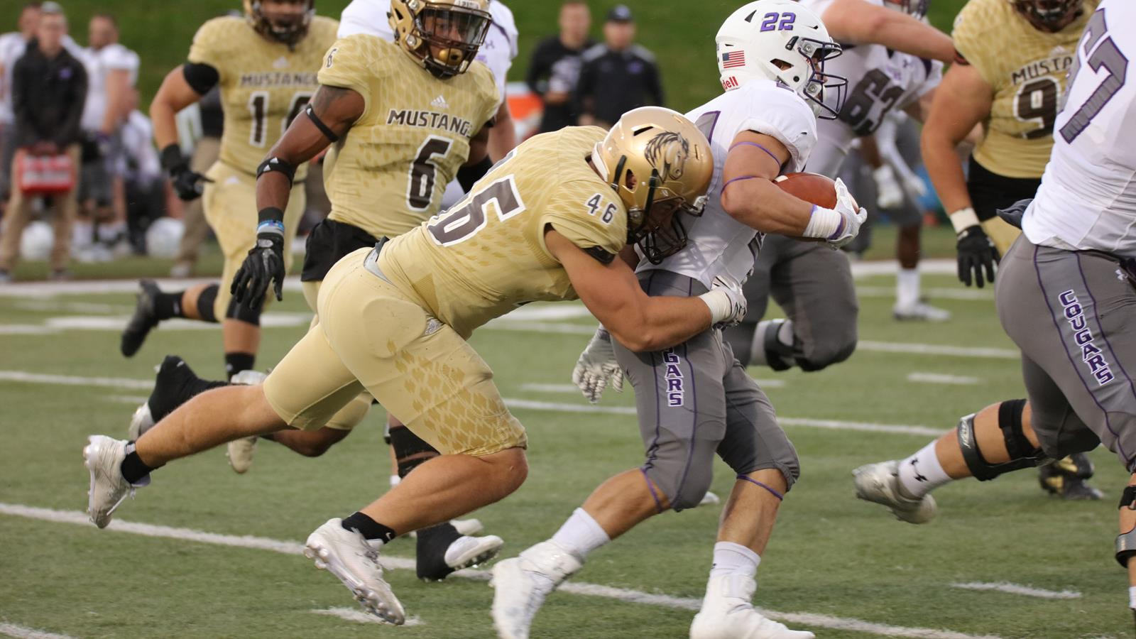 Mustang Football Reports Friday For Fall Camp Smsu Athletics