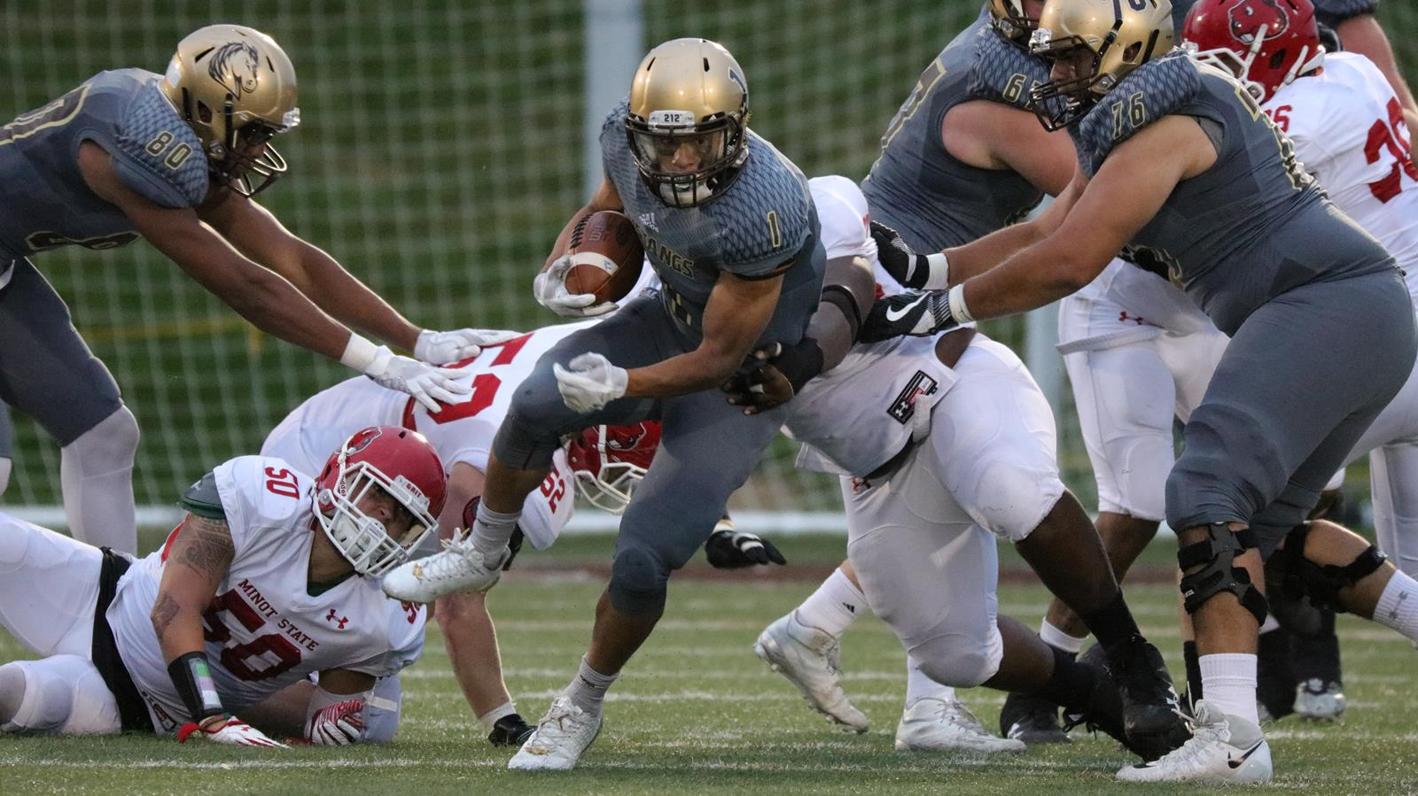 Smsu Faces No 18 Winona State In Annual Battle For The Sledge