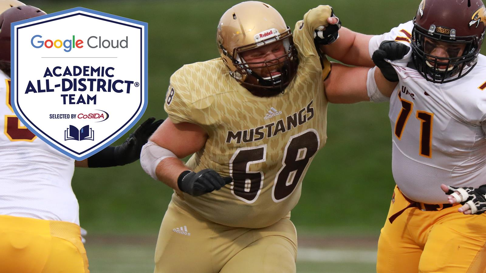Smsu S Jon Dicke Named Google Cloud Cosida Academic All District
